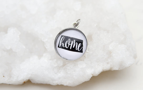 State Home Bubble Charm