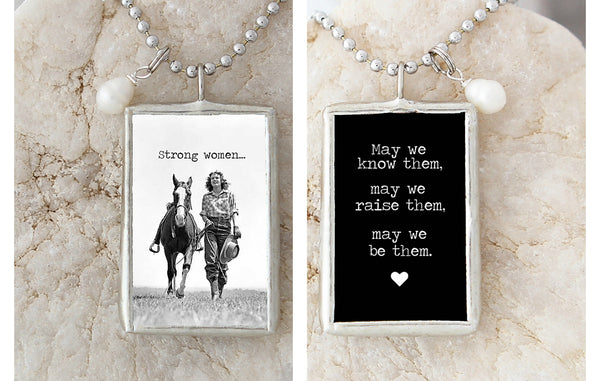 Strong Women Necklace