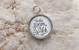Tis The Season To Sparkle Bubble Jewelry Charm