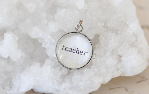 Teacher Bubble Charm