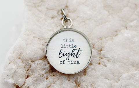 This Little Light of Mine Bubble Charm