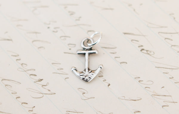 Anchor Tiny Charm - Jennifer Dahl Designs