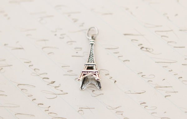 Eiffel Tower Tiny Charm - Jennifer Dahl Designs