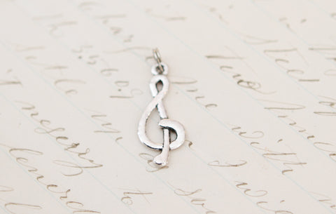 Treble Clef Tiny Charm