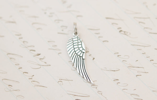 Wing Tiny Charm - Jennifer Dahl Designs