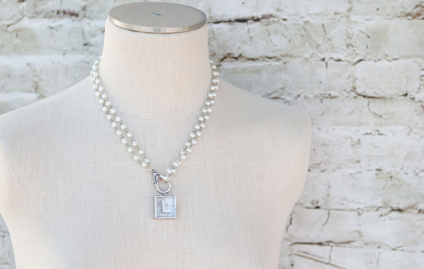 Pearl Lobster Clasp Charm Catcher - Jennifer Dahl Designs