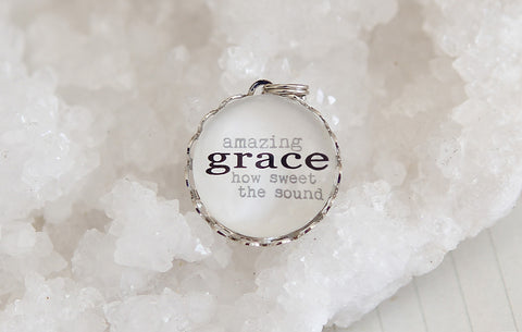 Amazing Grace Bubble Charm