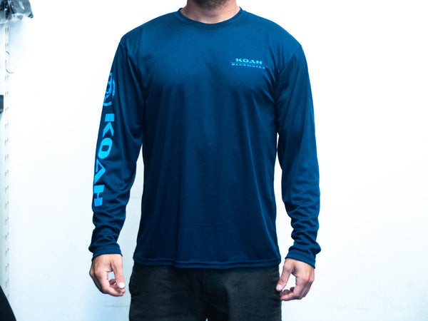 Koah X-DRI Longsleeve Navy Tuna/Freedive Performance Long Sleeve