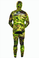 Picasso Grass Camo Jacket 5mm Wetsuit