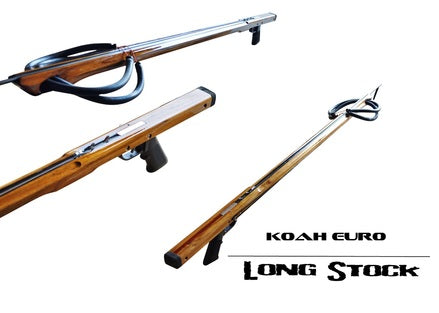 Koah Euro Longstock Series Speargun (100cm-120cm)