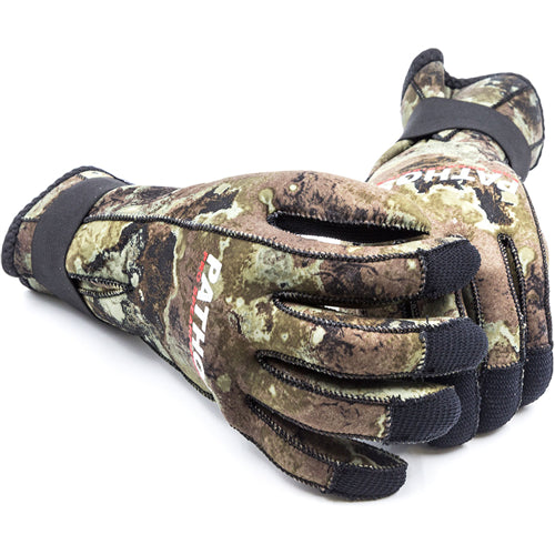 Pathos Thira 3mm Dive Gloves, Camo