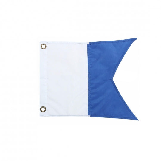 Trident Blue Dive Flag