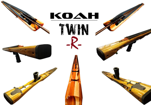 Koah Bluewater Double Roller Series Speargun
