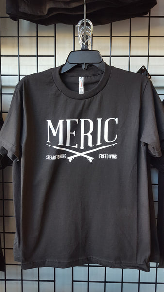 Meric Spearfishing T-Shirt in Black