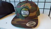 Nitro Gun Co. Snapback in Woodland Camo