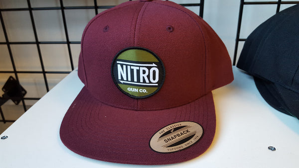 Nitro Gun Co. Snapback in Maroon