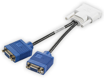 DMS-59 to Dual VGA Adapter - Discount PC
