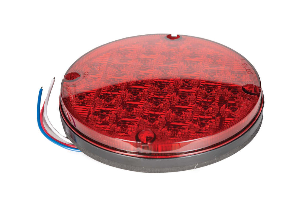 "LED, Warning, 7"", 33 Diode, Red"