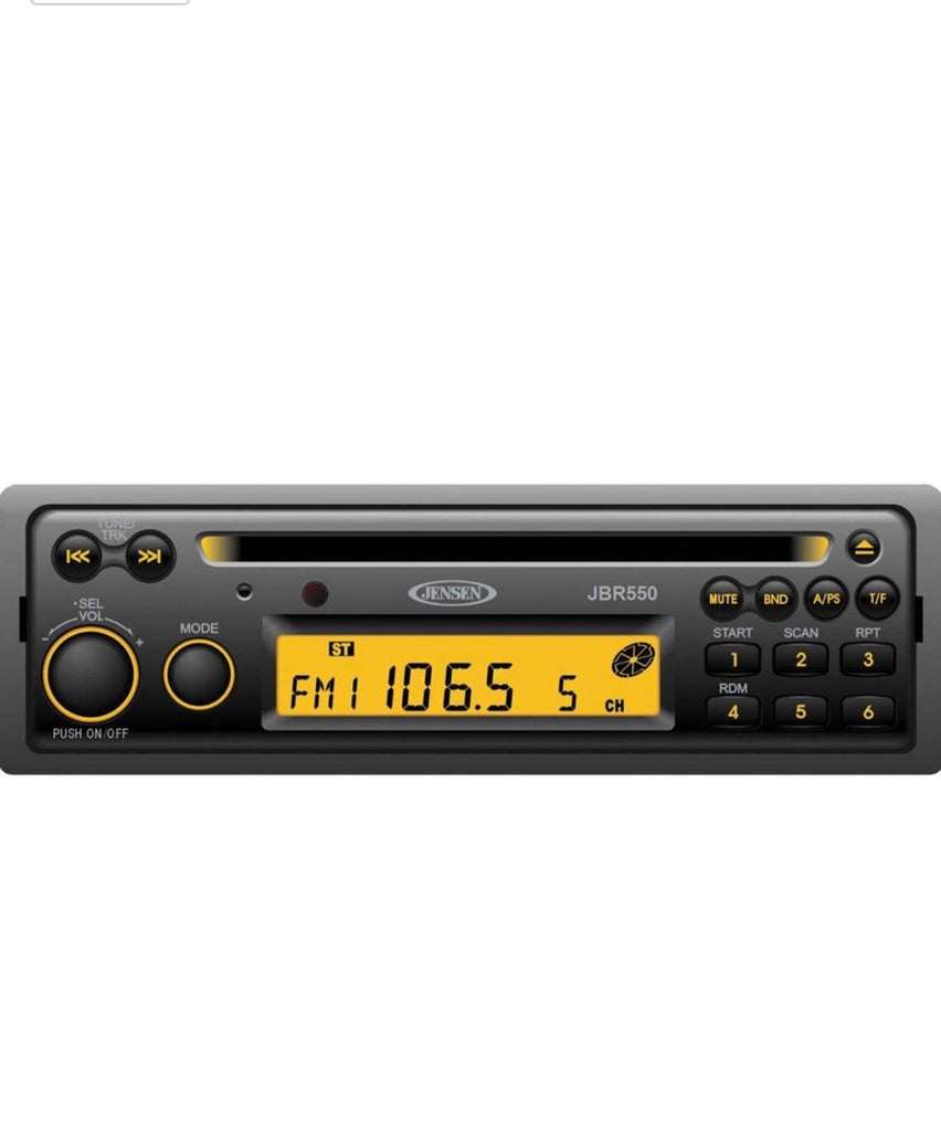 Radio - AM / FM CD Stereo with Microphone
