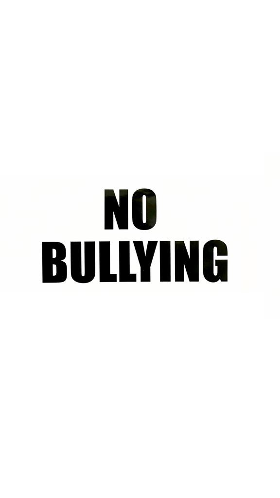 6In No Bullying Decal