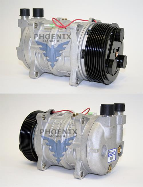 A/C Compressor 119Mm Ear Mount 12V Pv8  Cp16