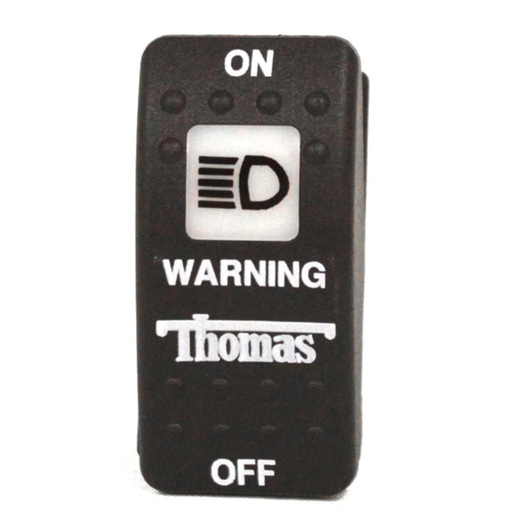 Rocker, 4-Term, Warning Lights, Thomas Bus
