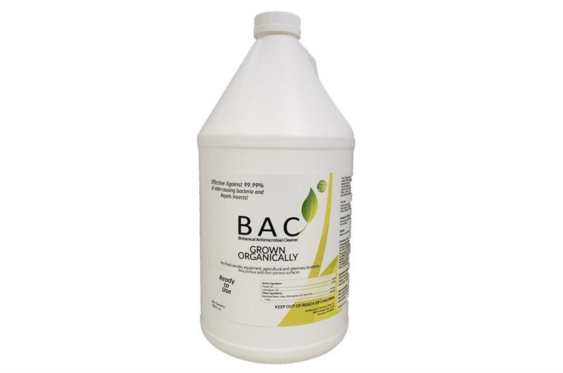 BAC Botanical Antimicrobial Cleaner, RTU - Gallon