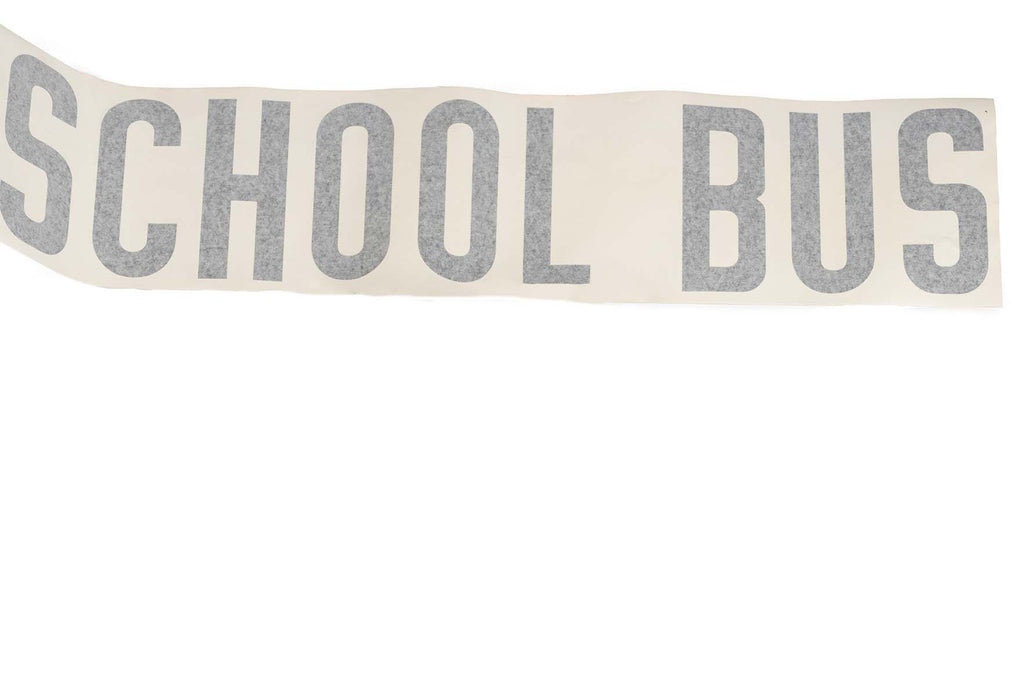 Decal, School Bus, 37.5X8