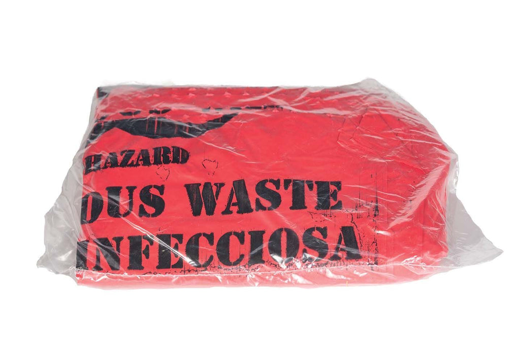"Clean-up, Biohazard Bags, 24""x24"", 25pcs"