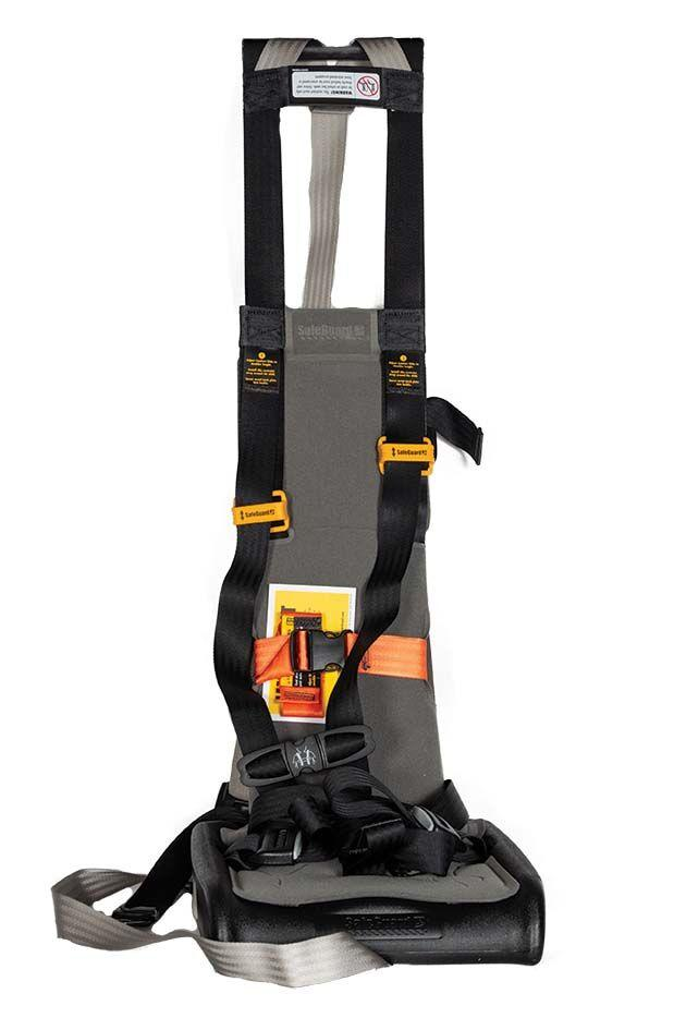 Restraint, Star w/ Chest Strap, 25 to 60 pounds