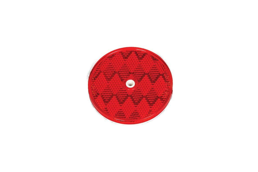 Lens, Reflector, 3.25In, Single Screw, Red