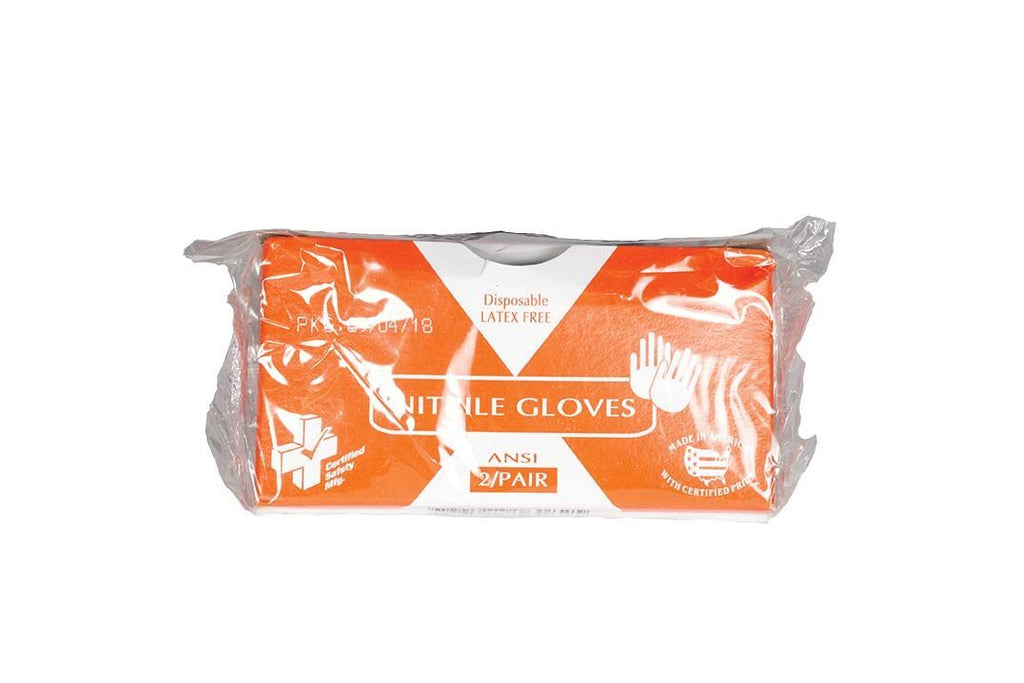FA, Nitrile Non-Latex Gloves, 2 Pair