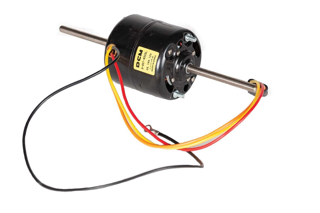 Blower Motor, CW, Dual Shaea, 4-Wires