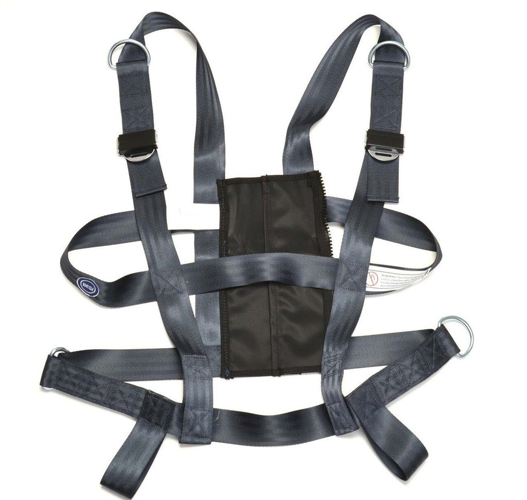 "Vest, EZ-ON, XXL, 45-51"" w/ Seat Mount"