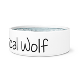 Whimsical Wolf Dog Bowl - Whimsical Wolf
