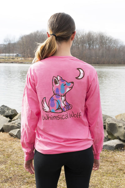 Crunchberry Long Sleeve with Pineapple Pattern - Whimsical Wolf