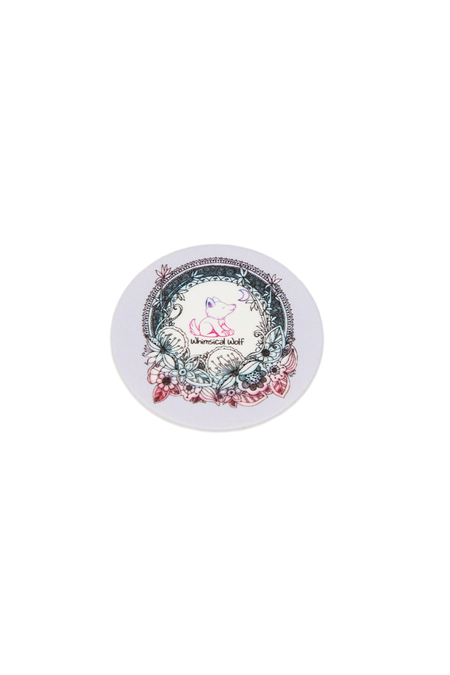 Rose Floral Wreath Phone Socket