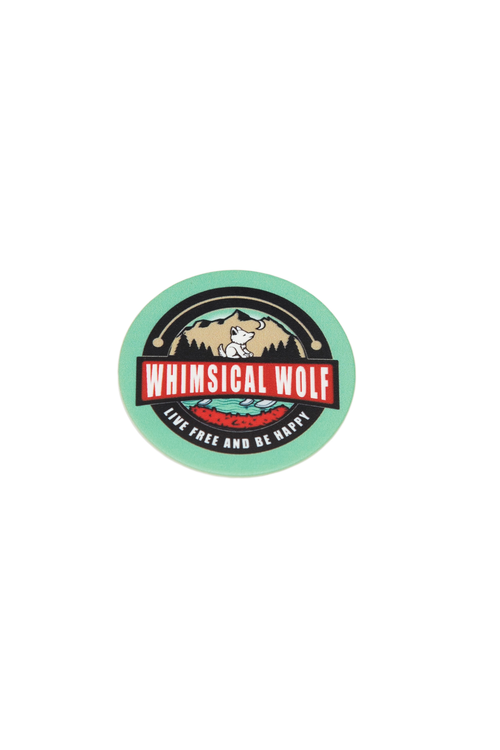 Vintage Whimsical Wolf Logo Phone Socket - Whimsical Wolf