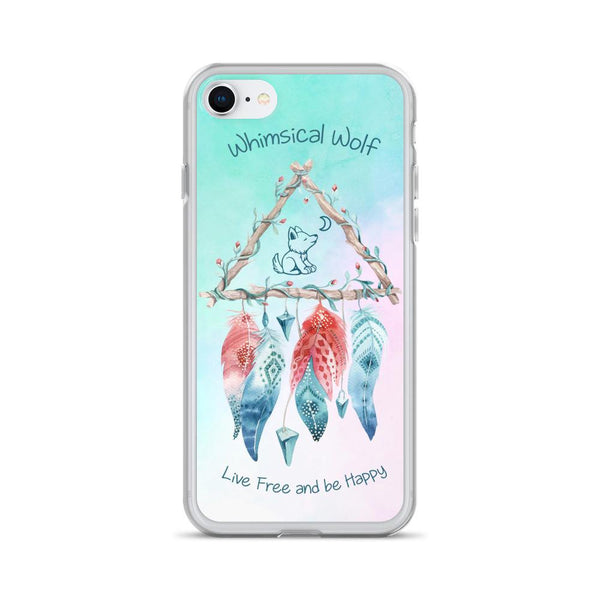 Dreamcatcher iPhone Case - Whimsical Wolf