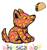 Taco Tuesday Wolf  Pattern Sticker 3.0