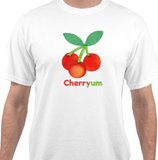 100% Cotton Cherryum T-Shirt (Printed in USA)