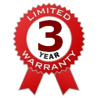 Direct Three year seller warranty from Seifelden