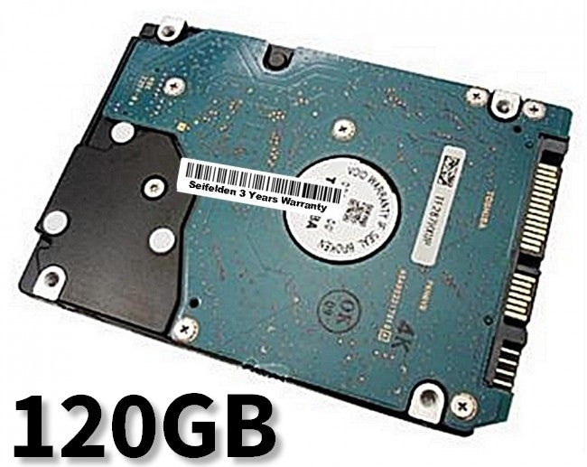 120GB Hard Disk Drive for Gateway MX6453 Laptop Notebook with 3 Year Warranty from Seifelden (Certified Refurbished)