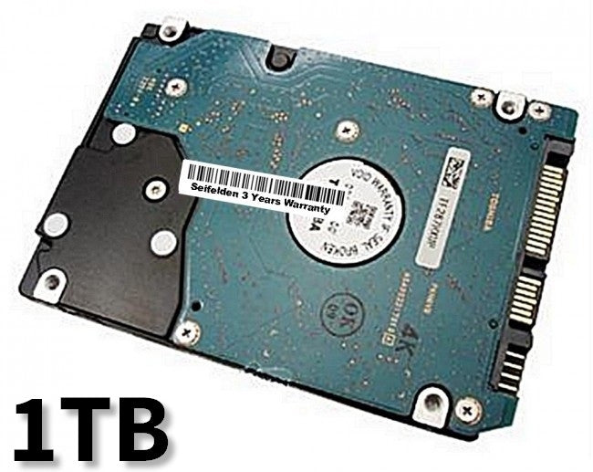 1TB Hard Disk Drive for Toshiba Satellite A135-S4677 Laptop Notebook with 3 Year Warranty from Seifelden (Certified Refurbished)
