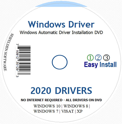 Automatic Driver Installation ONLY For Windows 10, 7, Vista and XP. Supports Asus, HP, Dell, Gateway, Toshiba, Gateway, Acer, Sony, Samsung, MSI, Lenovo, Asus, IBM, Compaq, eMachines