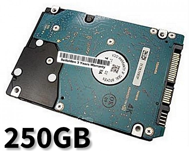250GB Hard Disk Drive for Gateway M-2410U Laptop Notebook with 3 Year Warranty from Seifelden (Certified Refurbished)