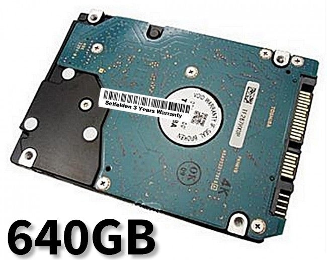 640GB Hard Disk Drive for eMachines D725 Laptop Notebook with 3 Year Warranty from Seifelden (Certified Refurbished)