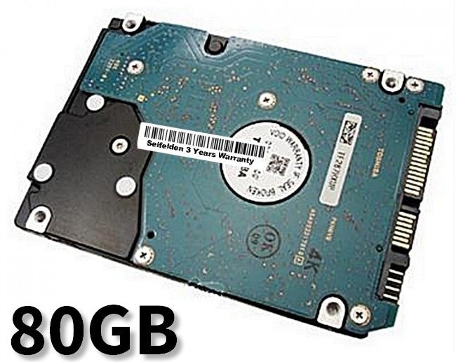 80GB Hard Disk Drive for Compaq PCs 6510b Laptop Notebook with 3 Year Warranty from Seifelden (Certified Refurbished)
