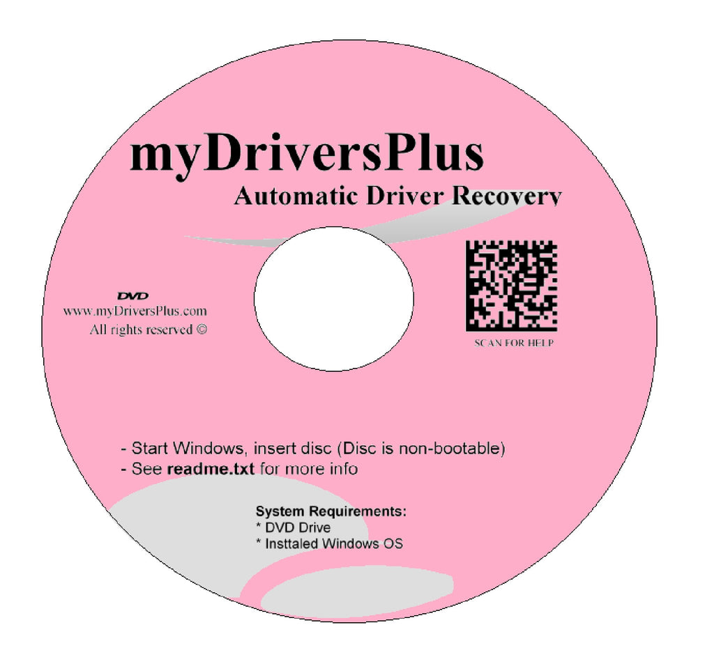 Winbook W-364 Drivers Recovery Restore Resource Utilities Software with Automatic One-Click Installer Unattended for Internet, Wi-Fi, Ethernet, Video, Sound, Audio, USB, Devices, Chipset ...(DVD Restore Disc/Disk; fix your drivers problems for Windows