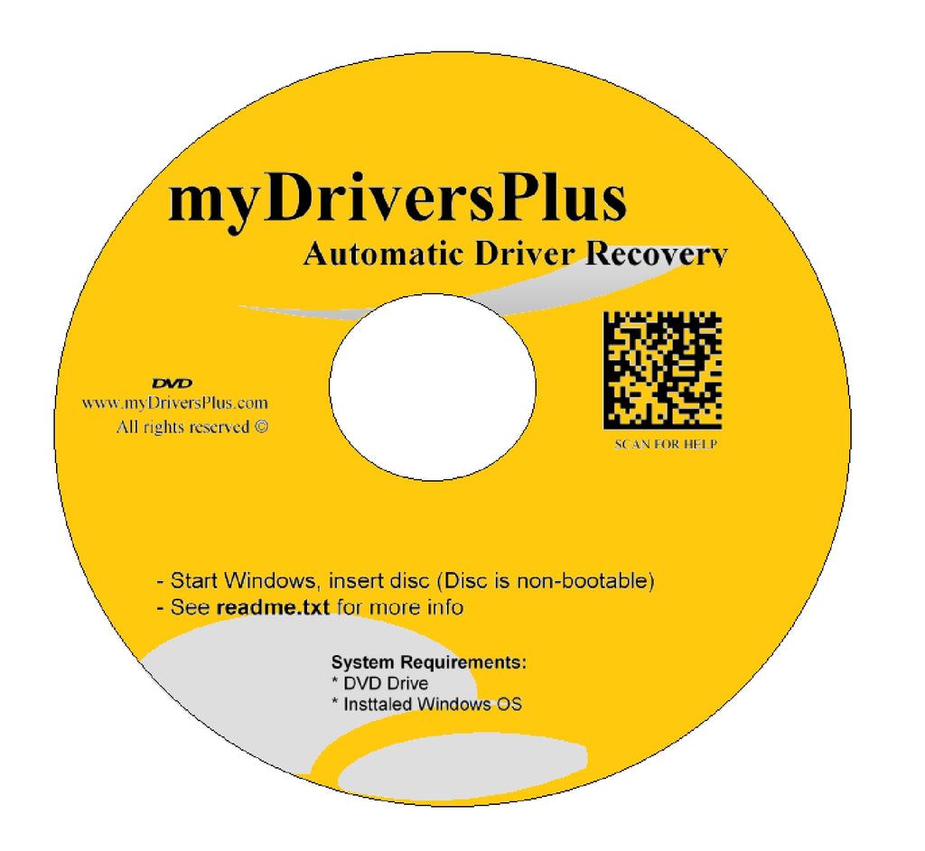 eMachines W4686 Drivers Recovery Restore Resource Utilities Software with Automatic One-Click Installer Unattended for Internet, Wi-Fi, Ethernet, Video, Sound, Audio, USB, Devices, Chipset ...(DVD Restore Disc/Disk; fix your drivers problems for Windows